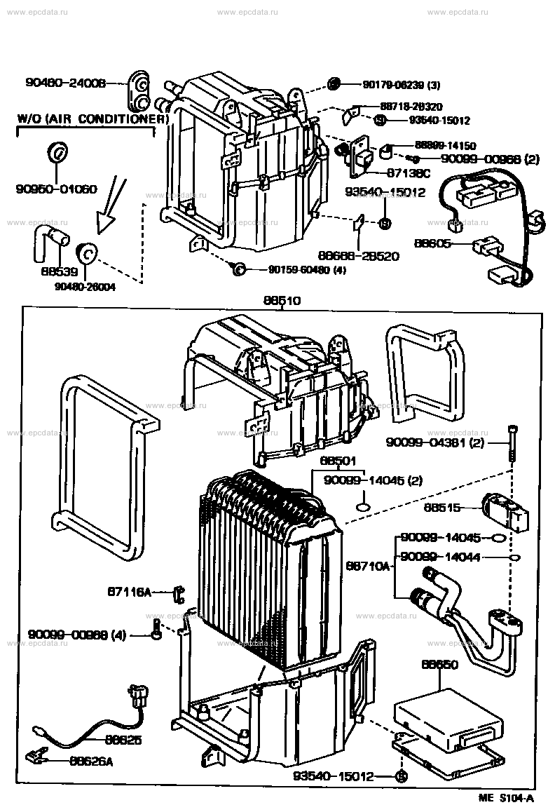 HEATING & AIR CONDITIONING - COOLER UNIT